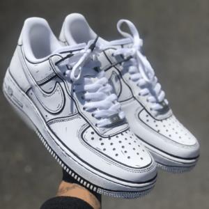 Nike AIRFORCE 1 (3D Cartoon custom)